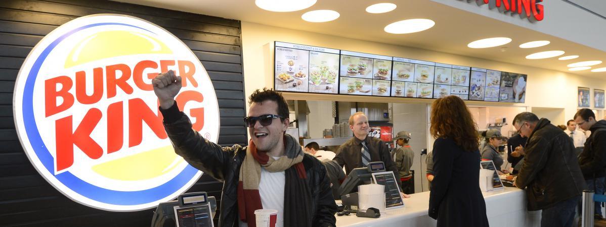 Burger King Carte Geographique.Infographies Burger King Quick Mcdonald S Le Marche