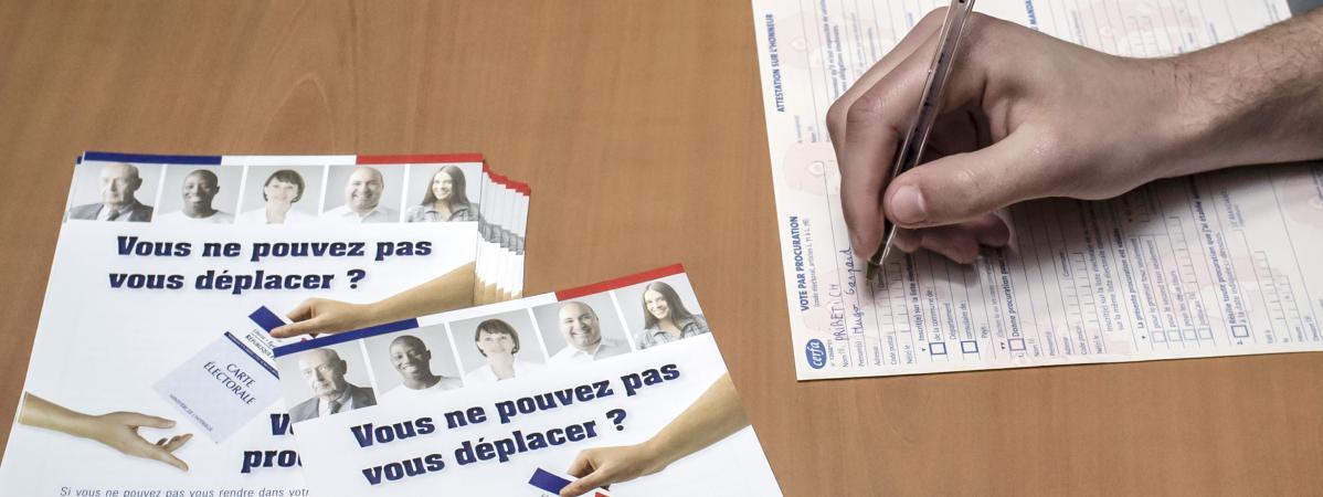 photo comment donner procuration pour aller voter