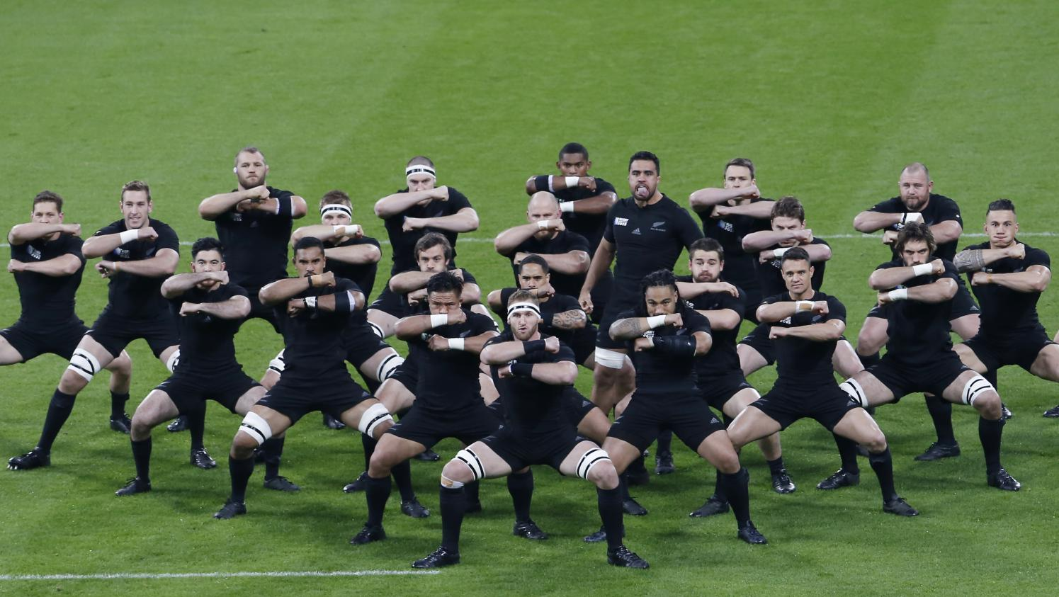 Mondial de rugby comment r ussir le haka des all blacks en sept gifs - Coupe du monde rugby en france ...