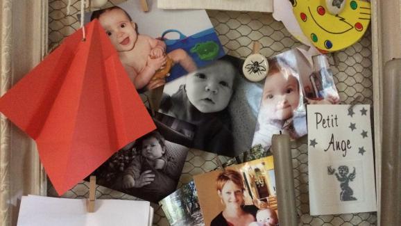 Photos de famille de Louis et de Hannah.