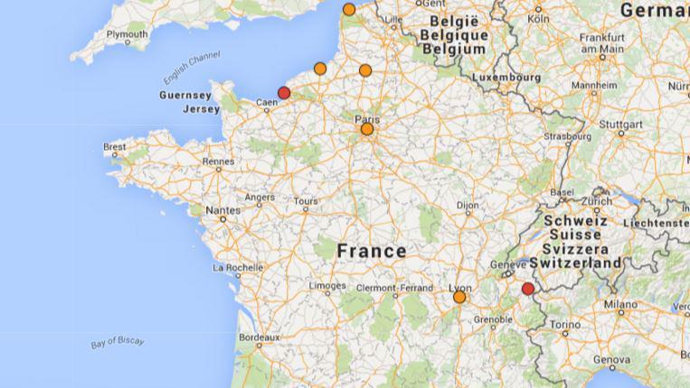 CARTE. Pollution : les 10 villes de France qui suffoquent