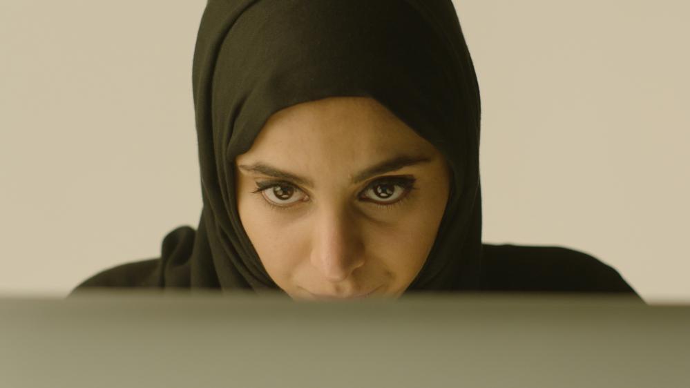 """Capture d'écran, extraite du documentaire produit par la BBC, """"Les fiancées du Djihad"""" réalisé par Steven McKintosh."""