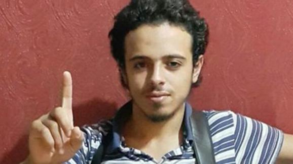 Photo non datée de Bilal Hadfi, 20 ans, l'un des trois kamikazes qui s'est fait exploser au stade de France le 13 novembre 2015.