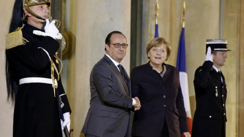 Crise des migrants : François Hollande et Angela Merkel face au risque de dislocation de l'Europe