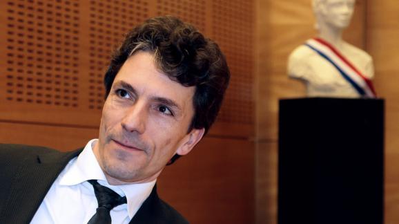Le juge antiterroriste Marc Trévidic, le 14 février 2013 à l'Assemblée nationale à Paris.