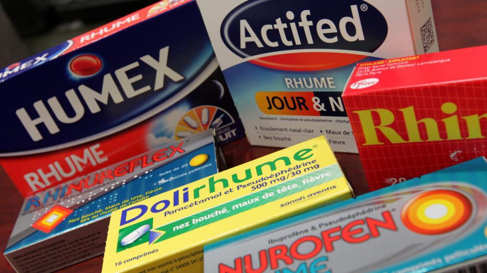 """Seule une minorité des médicaments en vente sans ordonnance, notamment pour lutter contre les maux de gorge, le rhume, ou la grippe, est efficace, selon """"60 Millions de consommateurs""""."""