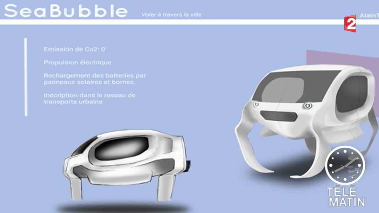 sea bubble une voiture qui vole sur l 39 eau. Black Bedroom Furniture Sets. Home Design Ideas