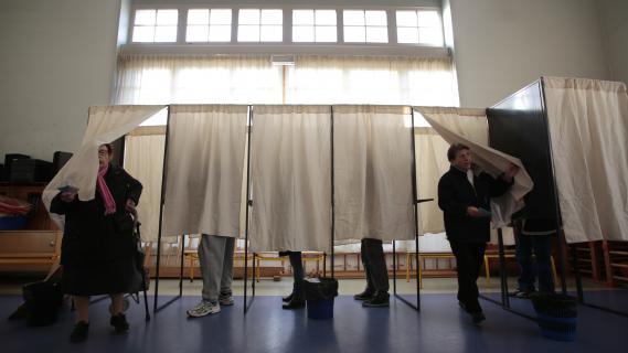 Elections r gionales ambiance de bureau de vote for Ouverture bureau vote 13 decembre