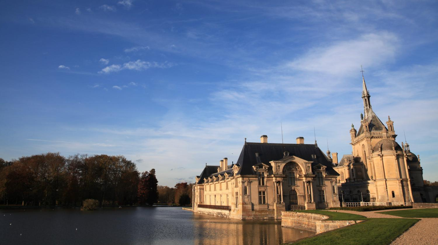 Feuilleton chantilly le ch teau des princes 1 5 - Chateau de chantilly adresse ...
