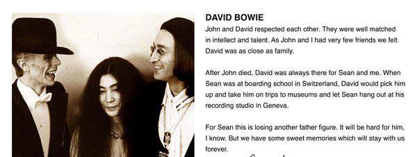 Non Yoko Ono N A Pas Retouche Une Photo Pour Se Rapprocher De David Bowie