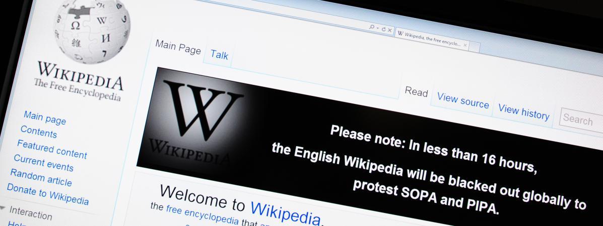 Wikipedia bloque pour un an une adresse ip du minist re de for Adresse ministere de l interieur