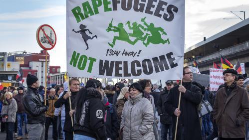 Le mouvement islamophobe Pegida s'étend en Europe