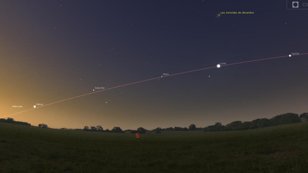 Un exceptionnel alignement de planètes visible dans le ciel 7707727