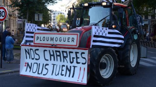 """Agriculteurs en colère : la fin des quotas """"a été mal gérée"""""""