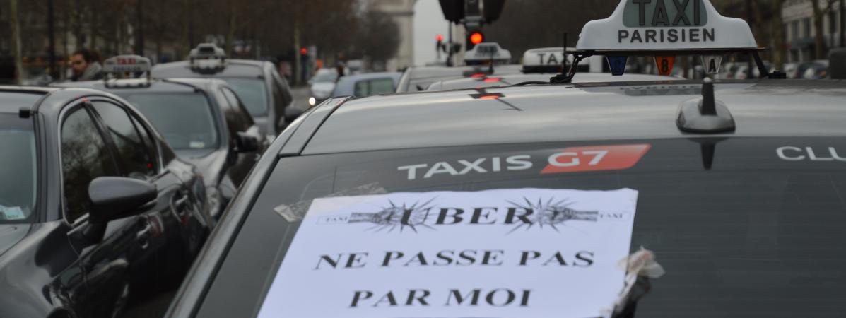 Grève Des Taxis Sept Choses Vues Ou Entendues Au Rassemblement De - Taxi porte maillot