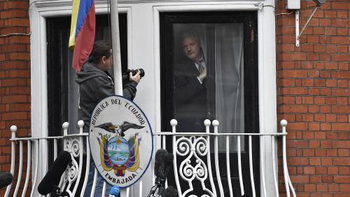 Tapis de course, stars et gâteaux : la vie de Julian Assange, enfermé à l'ambassade d'Equateur à Londres depuis plus de 1300 jours