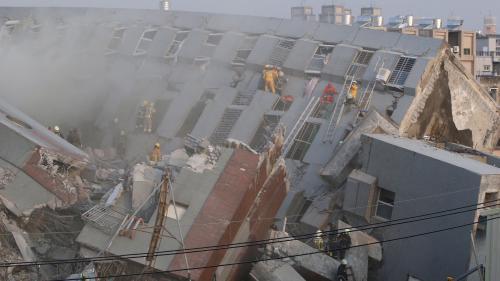 Taiwan : au moins cinq morts après un important séisme dans le sud de Taïwan
