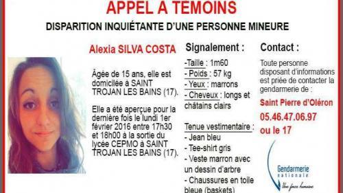 Oléron : l'île se mobilise pour retrouver Alexia
