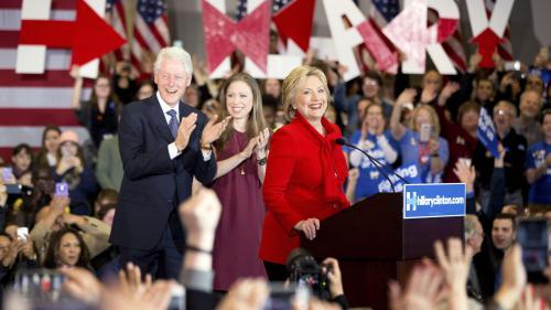 La campagne présidentielle, unehistoire defamille chez les Clinton