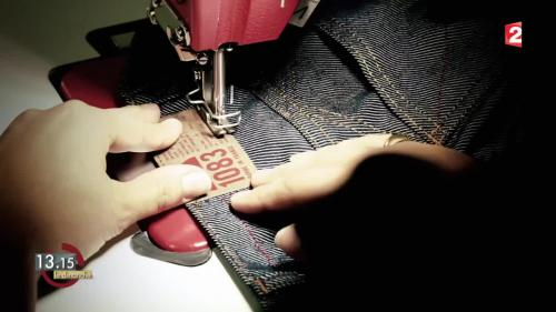 "VIDEO. 13h15. Consommation : le succès commercial du jean 100% ""made in France"""