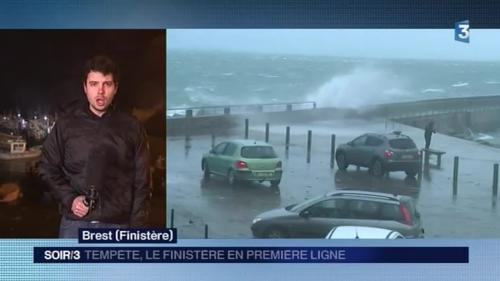 Vents violents : risques de submersion et d'inondations