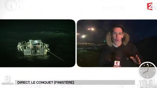 Bretagne : des rafales de vent à 140 km/h, des vagues de dix mètres