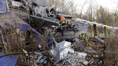 DIRECT. Collision entre deux trains en Allemagne : un nouveau bilan fait état d'au moins neuf morts