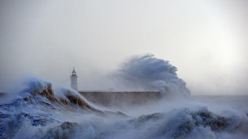 EN IMAGES. Intempéries : quand les vagues se déchaînent en bord de mer