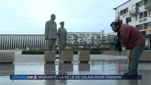 Calais, une ville sous tension