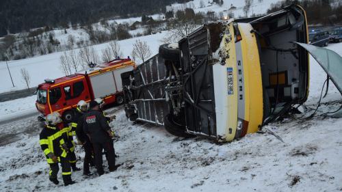 Accident de car dans le Doubs : alcoolémie négative, mais vitesse excessive