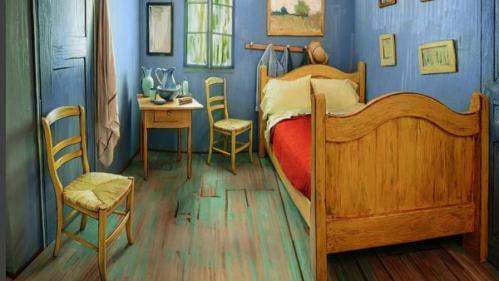 La 'Chambre de Van Gogh' est devenue réalité, il est même possible d'y dormir