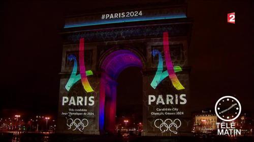 JO-2024 : Paris a dévoilé son logo