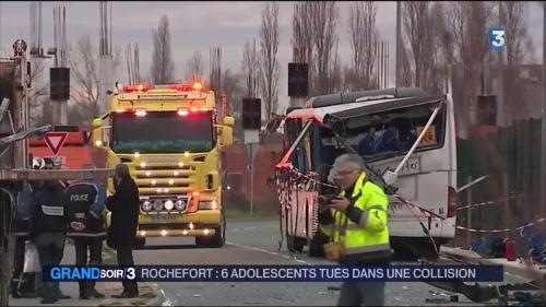 Accident de car en Charente-Maritime : Rochefort pleure six adolescents
