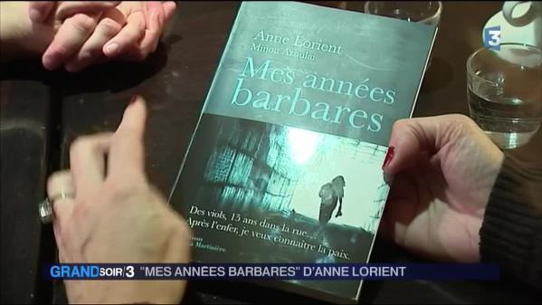 Anne Lorient signe un livre choc sur l'enfer des viols et de la rue