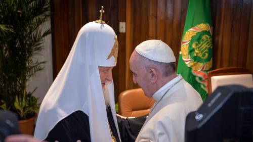 VIDEO. A Cuba, rencontre historique entre le pape François et le patriarche de l'Eglise orthodoxe russe Kirill