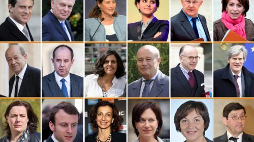 INFOGRAPHIE. Découvrez le nouveau gouvernement de Manuel Valls