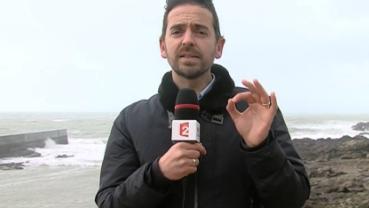 Vigilance orange sur la côte atlantique : la fin du phénomène prévue pour 18 heures