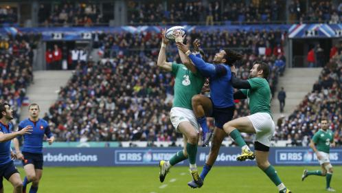 Six nations : les Bleus battent à l'arraché l'équipe d'Irlande