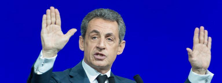 Nicolas Sarkozy, le 14 février 2016 à Paris.