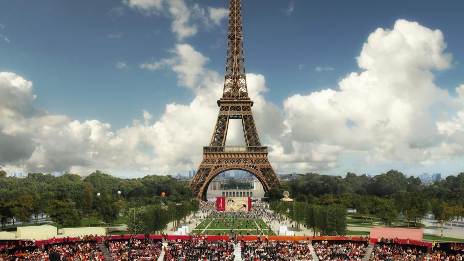 en images d couvrez quoi ressembleront les sites olympiques de paris 2024. Black Bedroom Furniture Sets. Home Design Ideas