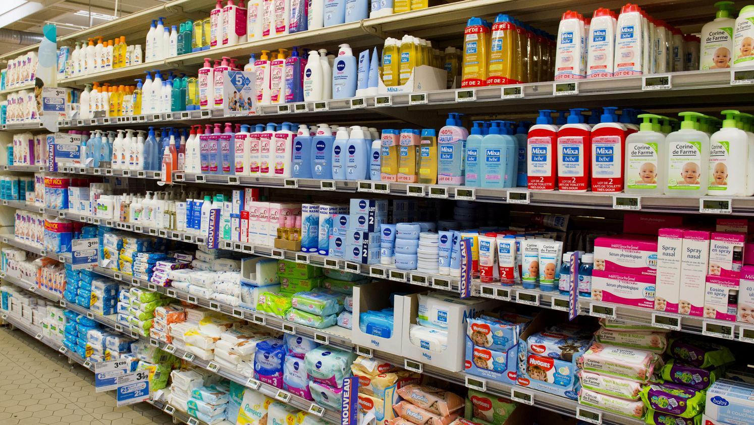 Cosm tiques les produits de nos salles de bains sont ils toxiques - Produit bebe non toxique ...