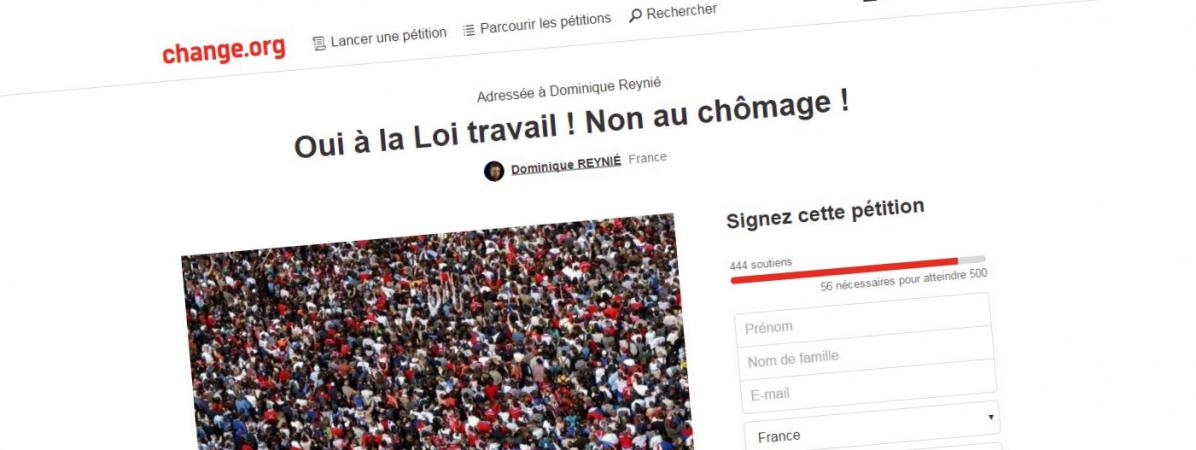 Droit Du Travail Une Contre Petition Pour Soutenir La Loi