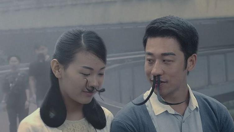 video de longs poils de nez pour filtrer l 39 air pollu la campagne choc d 39 une ong chinoise. Black Bedroom Furniture Sets. Home Design Ideas