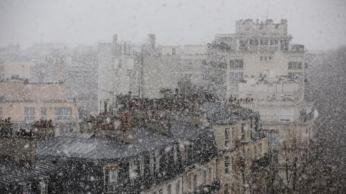 Météo : la neige débarque plus tôt que prévu en Ile-de-France