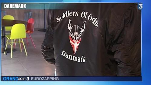 """Eurozapping : les """"Soldats d'Odin"""" contre les migrants, une Française tuée en Espagne"""