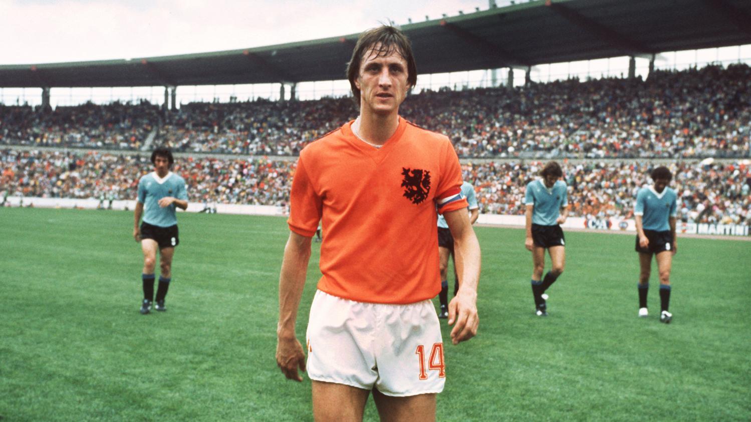est footballeur Le néerlandais mort Johan  d