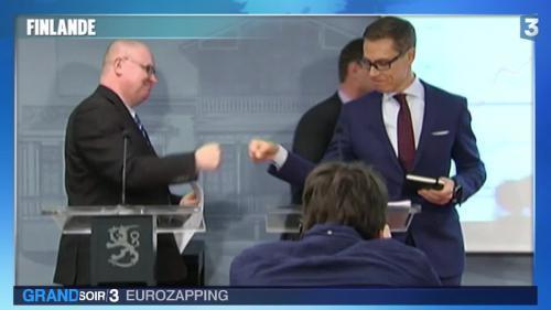 Eurozapping : geste polémique en Finlande et chanson coup-de-poing en Allemagne