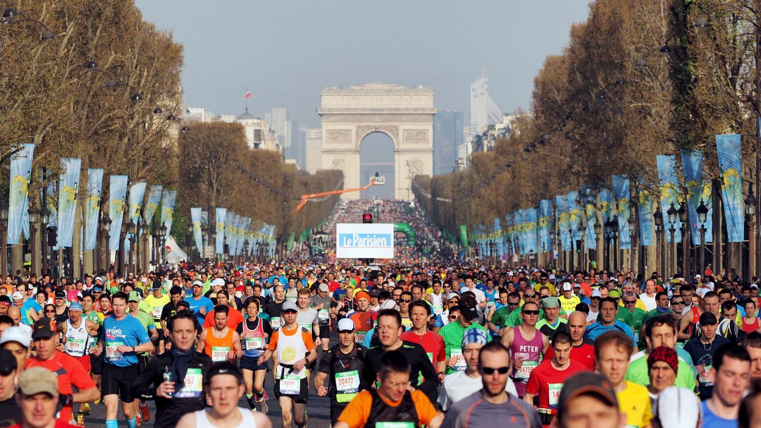 Marathon De Paris Une Course Sous Haute Surveillance