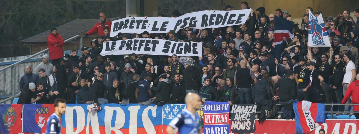 VIDEOS  Des supporters parisiens assistent à Troyes-Angers
