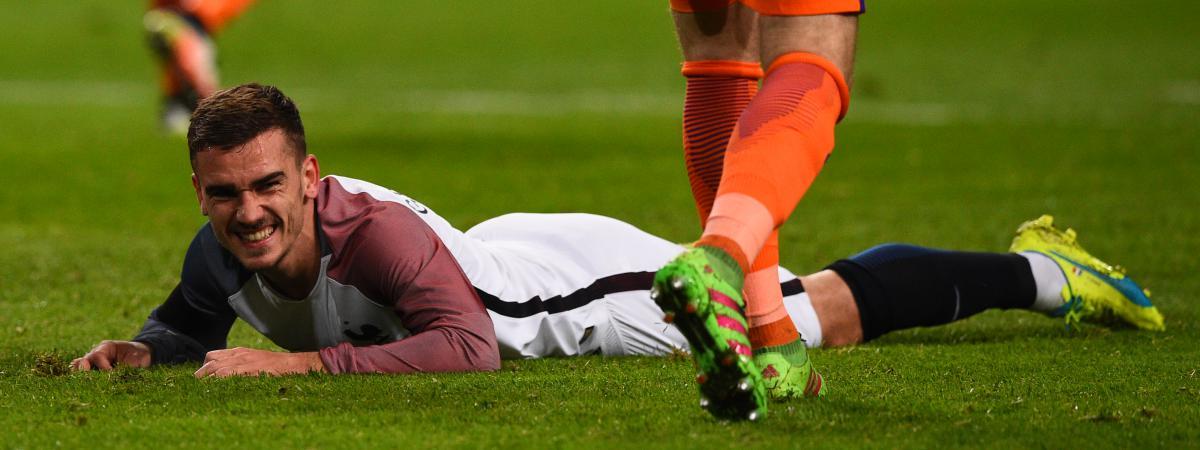 Antoine Griezmann, l'attaquant de l'équipe de France de football, semble&nbsp